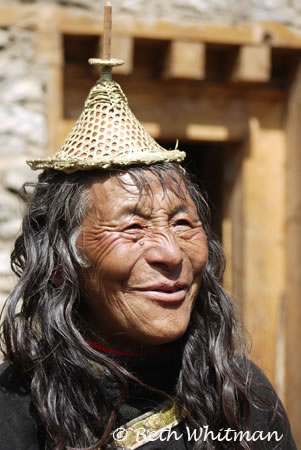 Delightful Laya woman at her home