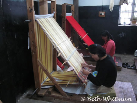 Weaving in Thimphu