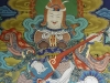 Painting of deity at Punakha Dzong