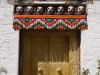 Doorway at Punakha Dzong