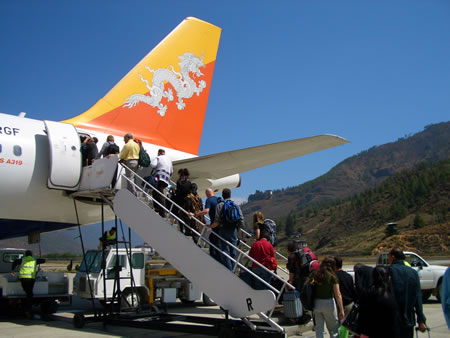 Druk Air Flight
