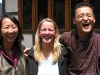 Chuki, Beth and Tshering