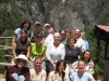 Women's group at Tiger's Nest