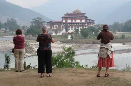 Women in Punakha