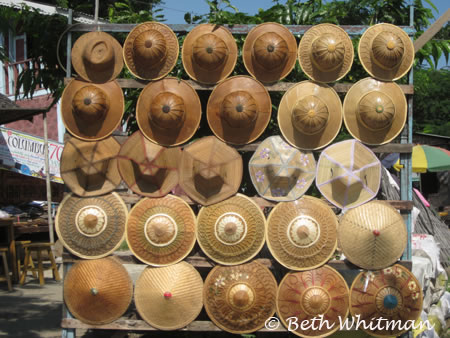 Burmese Hats near Mandalay