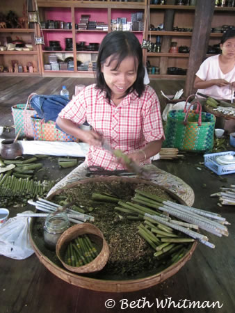Cheroot Making in Burma