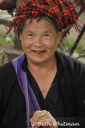 Woman at Market on Inle Lake, Burma