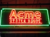 Acme Oyster Sign