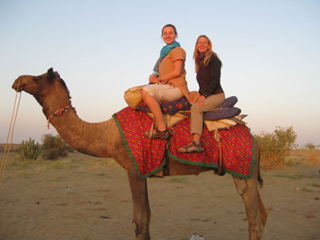 Camel ride in Rajasthan