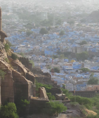 View from Jodhpur fort