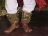 Dancing feet at private performance