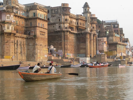 The Ganges and Varanasi