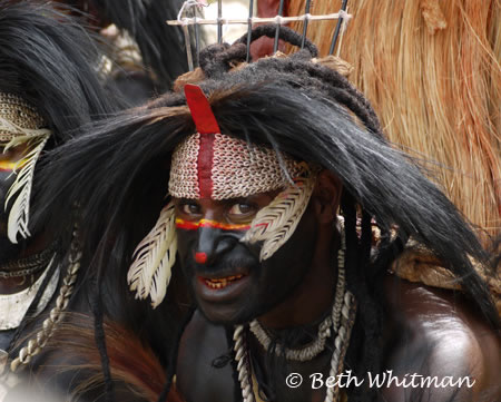 Black Wigged Tribesman