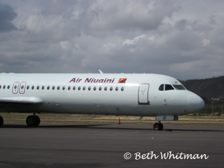 Air Niugini plane