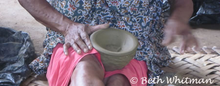Pottery Maker near Madang
