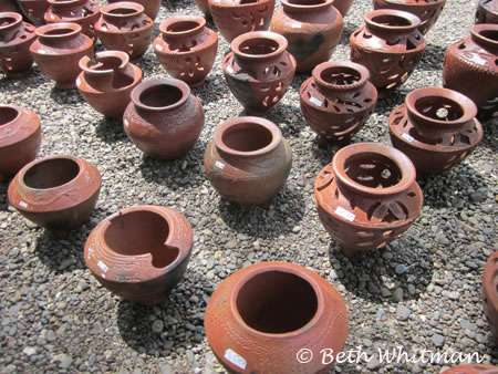 Pottery near Madang