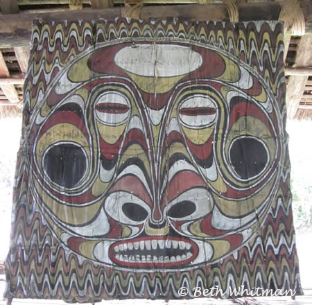 Sepik Art Wall Hanging
