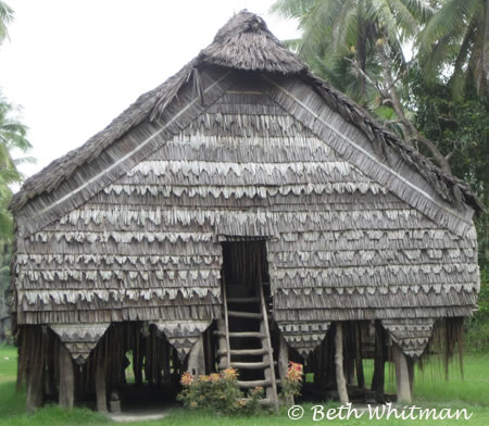 House on the Sepik River