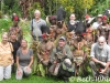 WanderTours Group with Tribe in Sepik River Region