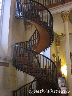 Loretto Chapel Stairs