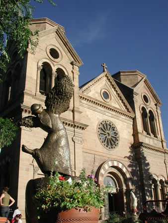 St. Francis Church in Santa Fe