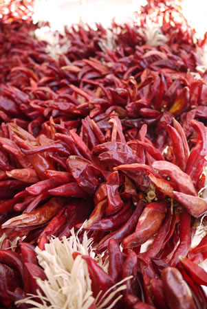 Ristra Chili Peppers