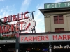 A perfect Seattle day at Pike Place Market