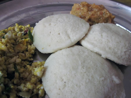 Idli for lunch