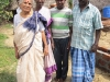 Amma with family at Passports Village