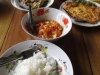 Lunch at home in Chiang Mai