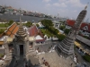 View from Wat Arun in Bangkok