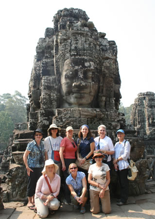 Group in Cambodia