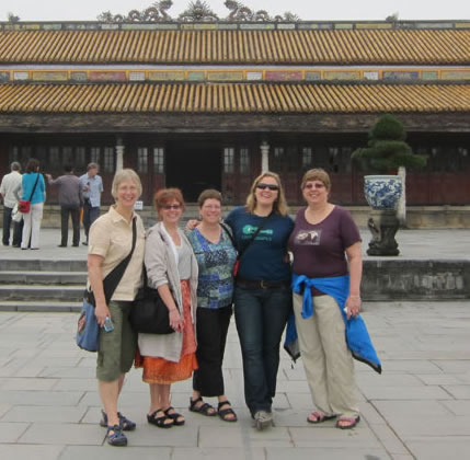 Group in Hanoi