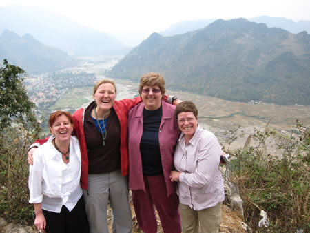 Group in Mai Chau