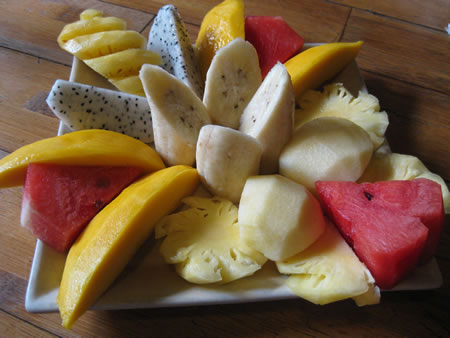 Fruit salad in Hanoi