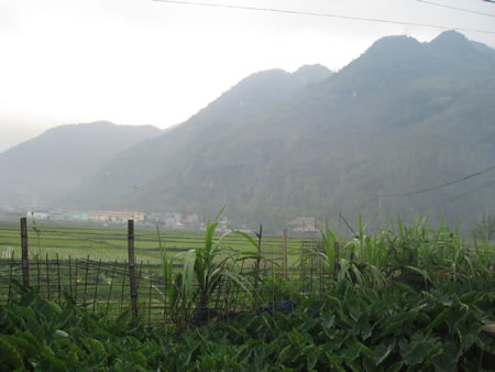 Mountains in Mai Chau