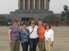 Group at Ho Chi Minh's Mausoleum