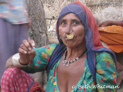 Bishnoi Woman India