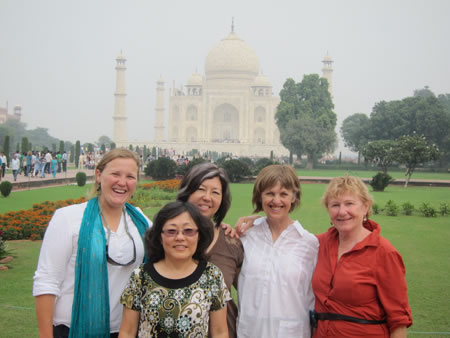 Group at Taj Mahal