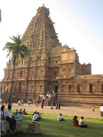Brihadeeshwara Temple in South India
