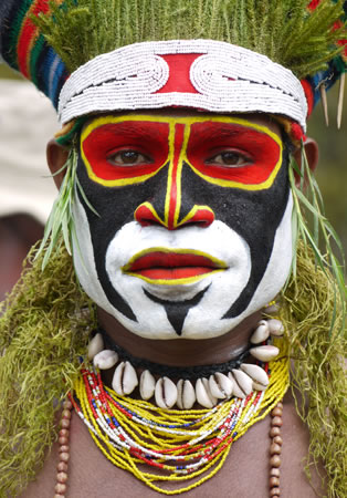 Hagen Tribal Man