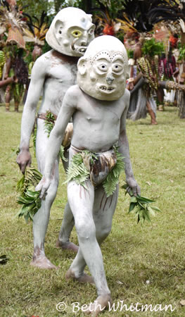 Asaro Mudmen in Papua New Guinea