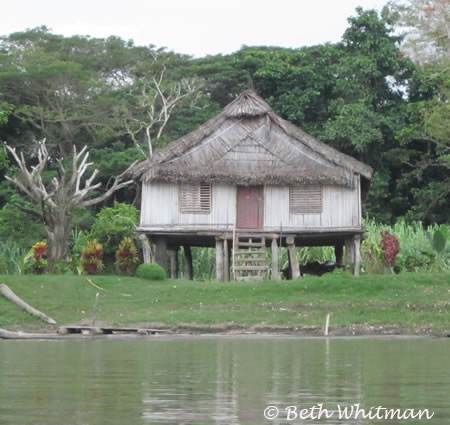 Sepik Home in Papua New Guinea