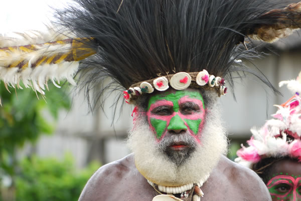 Papua New Guinea Sepik Chief