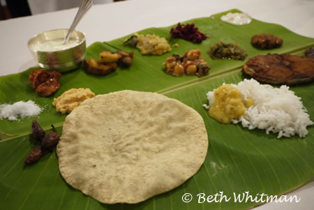 Chettinad Dinner