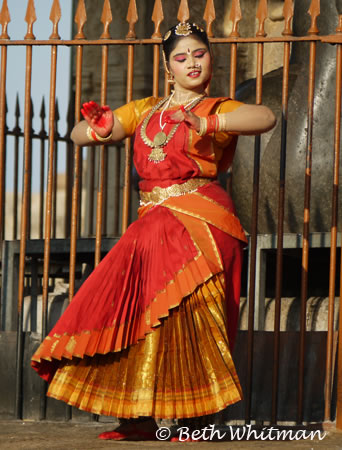 Dancer at Temple