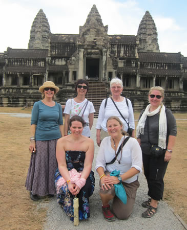 WanderTours Group at Angkor Wat