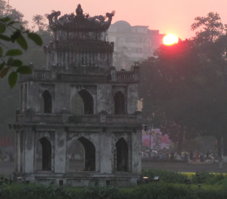 Hanoi Sunrise