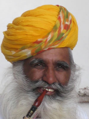 Man in Rajasthan