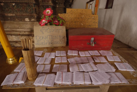 Scriptures in Temple Luang Prabang